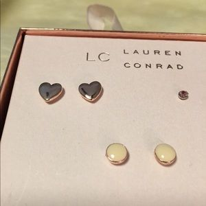 LC Lauren Conrad Jewelry - Lauren Conrad 5 pack Stud Earring Fashion Pack
